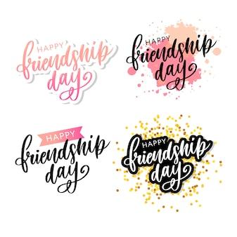Bonne journée de l'amitié