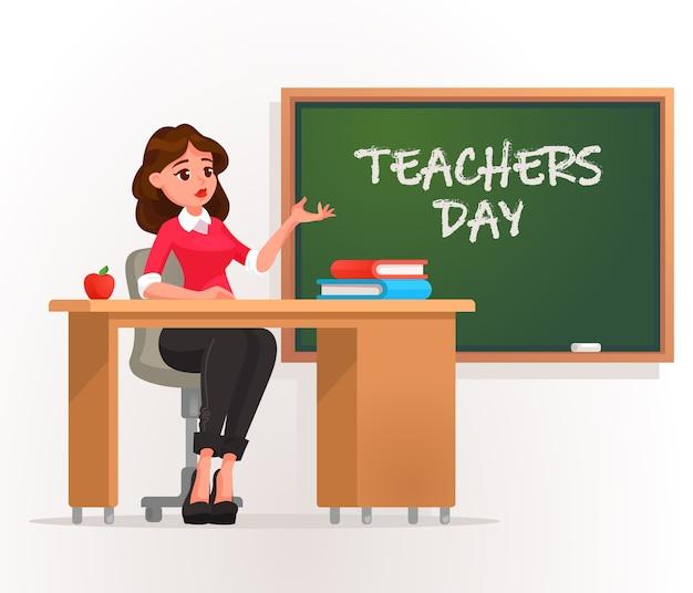 Bonne journée des enseignants.
