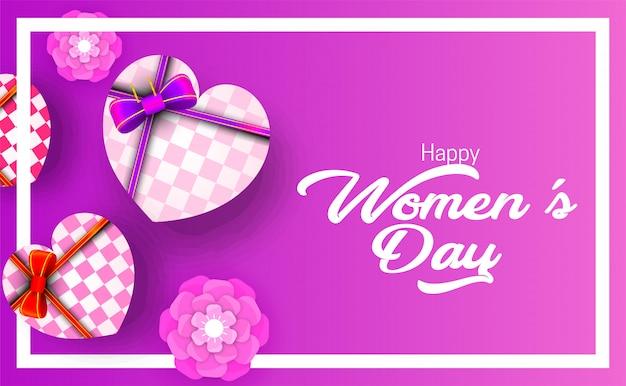 Bonne journée internationale de la femme le 8 mars