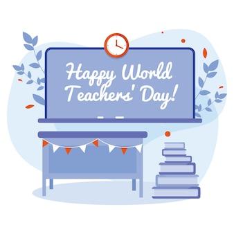 Bonne journée mondiale des enseignants