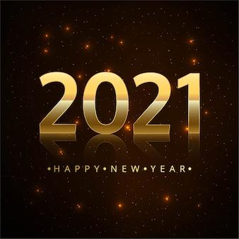 Bonne nouvelle année 2021 fond créatif
