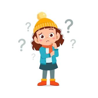 Bonne petite sensation de confusion et porter une veste en hiver