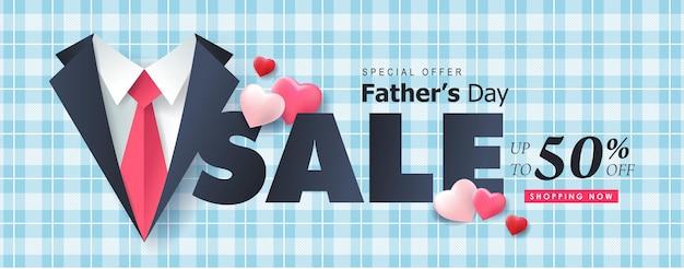 Bonne vente de fête des pères