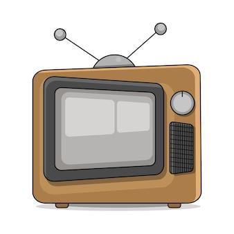 Une bonne vieille télé rétro