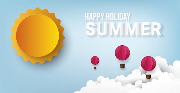 Bonnes vacances d'été.