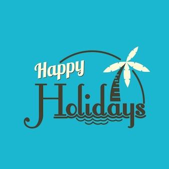 Bonnes vacances fond