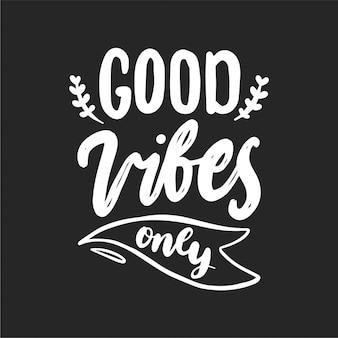 De bonnes vibrations uniquement en noir et blanc