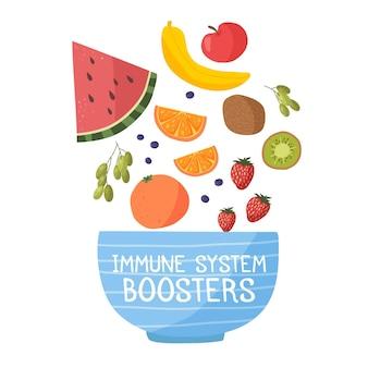 Boosters du système immunitaire