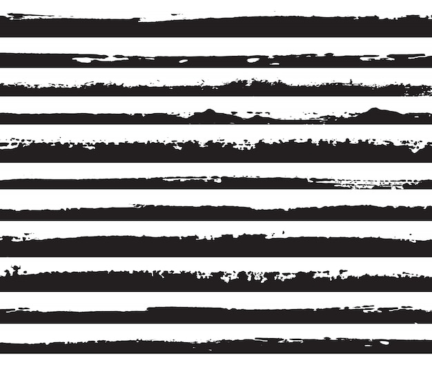 Bords noirs grunge