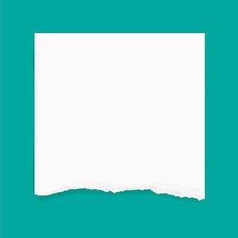 Bords de papier déchirés pour le fond. fond de texture de papier déchiré.