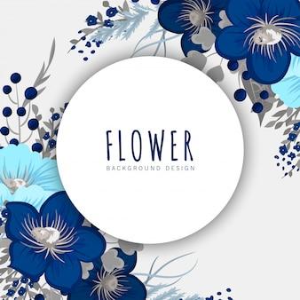 Bordure de cercle floral