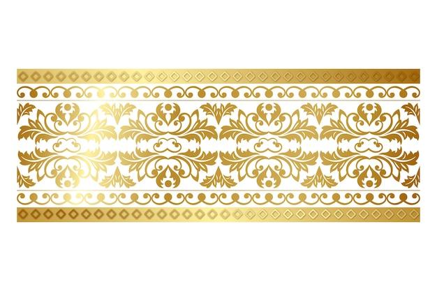 Bordure ornementale décorative