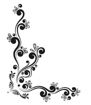 Bordures calligraphiques décoratives vintage. signalétique de modèle, logos, étiquettes, autocollants, cartes. éléments de design classiques pour cartes de vœux, diplômes, certificats et récompenses. page de conception graphique.