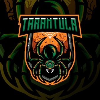 Bouclier de jeu de mascotte tarantula