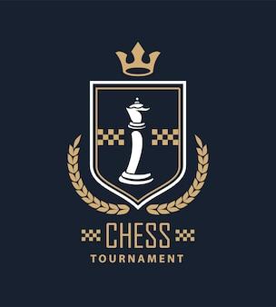 Bouclier de la reine des échecs