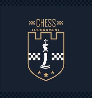Bouclier de roi d'échecs