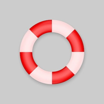 Bouée de sauvetage isolée
