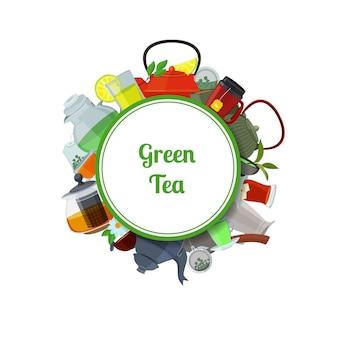 Bouilloires et tasses à thé
