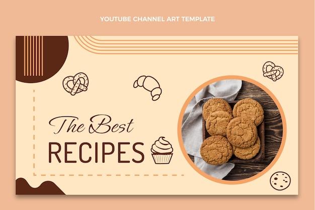 Boulangerie design plat chaîne youtube art