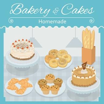 Boulangerie et gâteaux