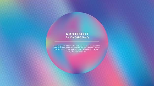 Boule holographique abstrait
