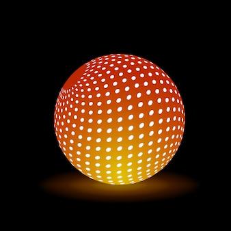 Boule de lumière numérique