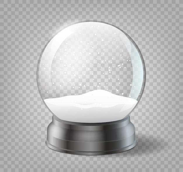 Boule de noël sur fond transparent