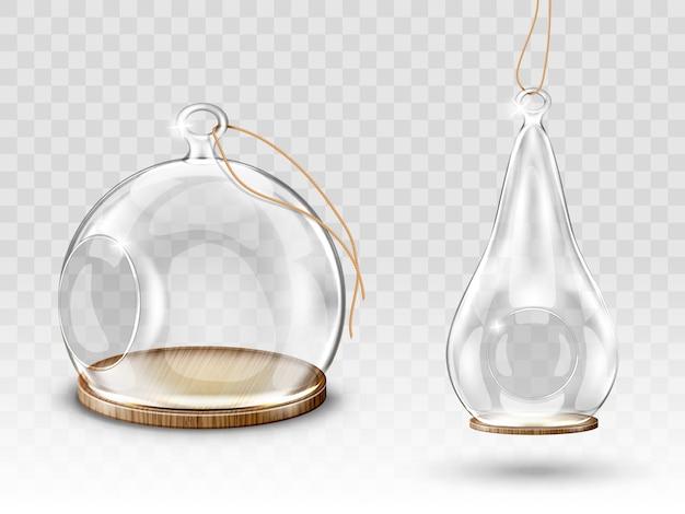 Boules de noël en verre