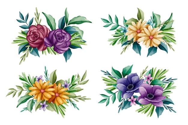 Bouquet de fleurs printanières