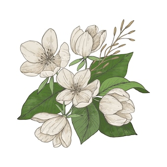 Bouquet floral vingage mignon