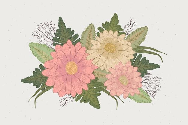 Bouquet floral vintage