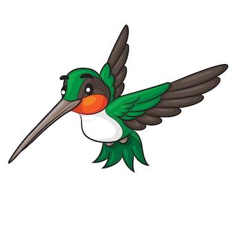 Bourdonnement oiseau cartoon