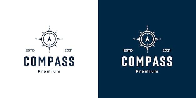 Boussole logo template vecteur conceptions