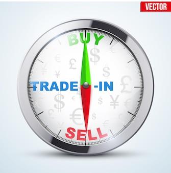 Boussole pour trader forex.