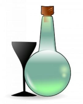 Bouteille d'absinthe