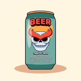 Bouteille de bière icône mascottes fête d'octobre