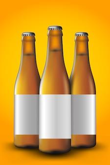 Bouteille de bière longue