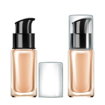 Bouteille cosmétique de crème de soin de peau de visage
