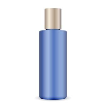 Bouteille cosmétique en plastique pour shampoing, gel, peau