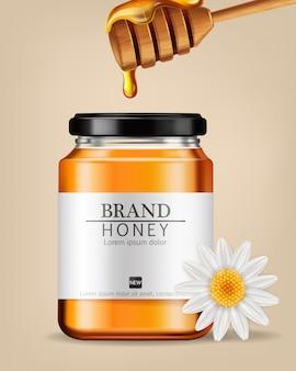 Bouteille de miel