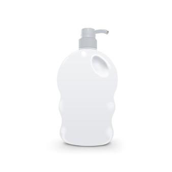 Bouteille en plastique de savon liquide et gel douche