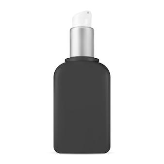 Bouteille de pompe. distributeur cosmétique de soin de peau. sérum