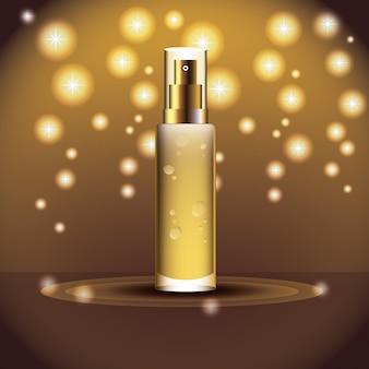 Bouteille de produit de parfum