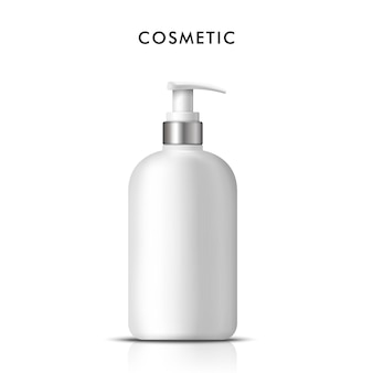 Bouteille de savon liquide cosmétique