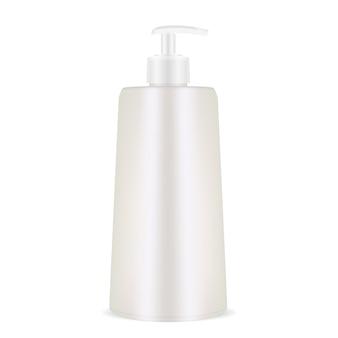 Bouteille de shampoing distributeur