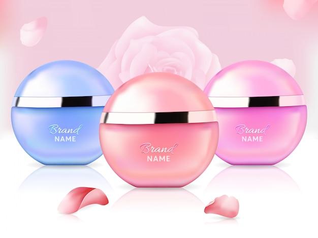 Bouteilles de parfum élégantes pour femmes