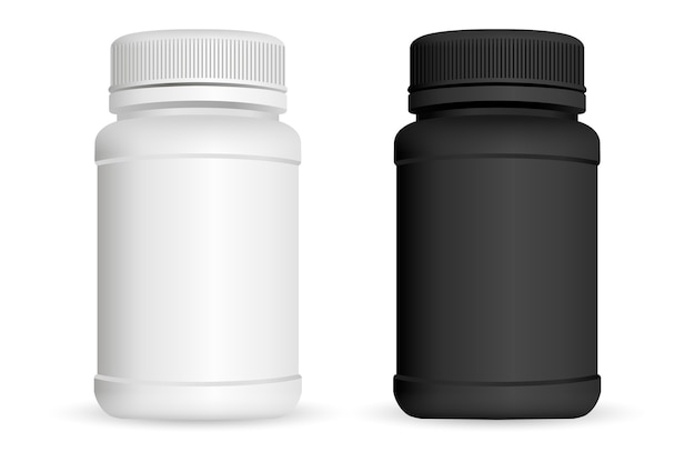 Bouteilles de pilules