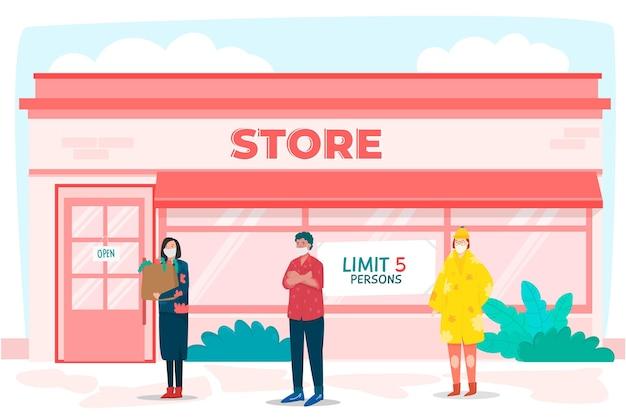 Boutique avec nombre limité