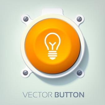 Bouton interface web