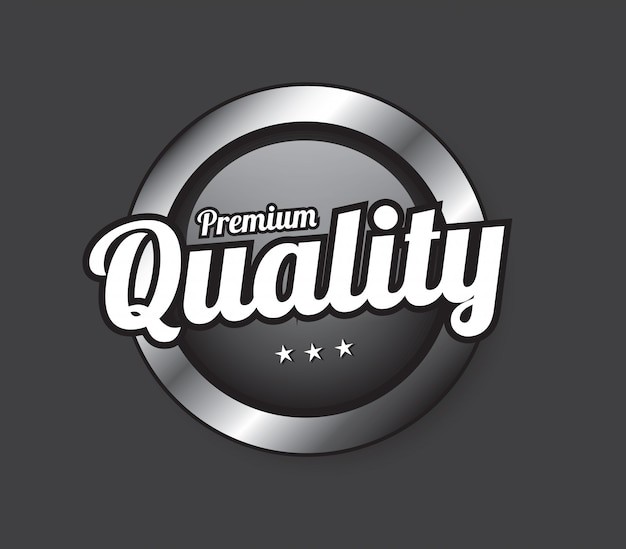 Bouton qualité